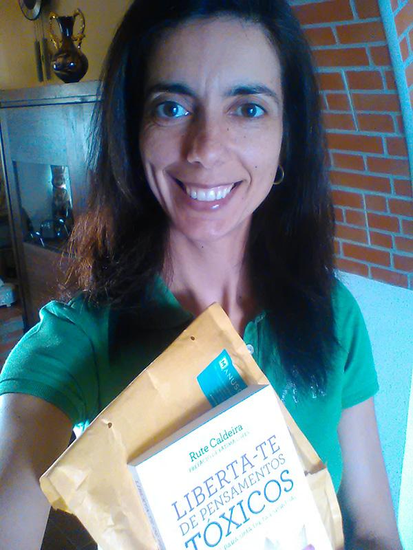Renata Germano, vencedora do Liberta-te de Pensamentos Tóxicos
