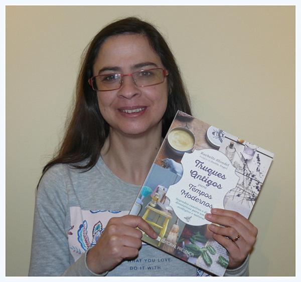 """Gina Santos, vencedora do Passatempo 3 Livros """"Truques Antigos para Tempos Modernos"""""""