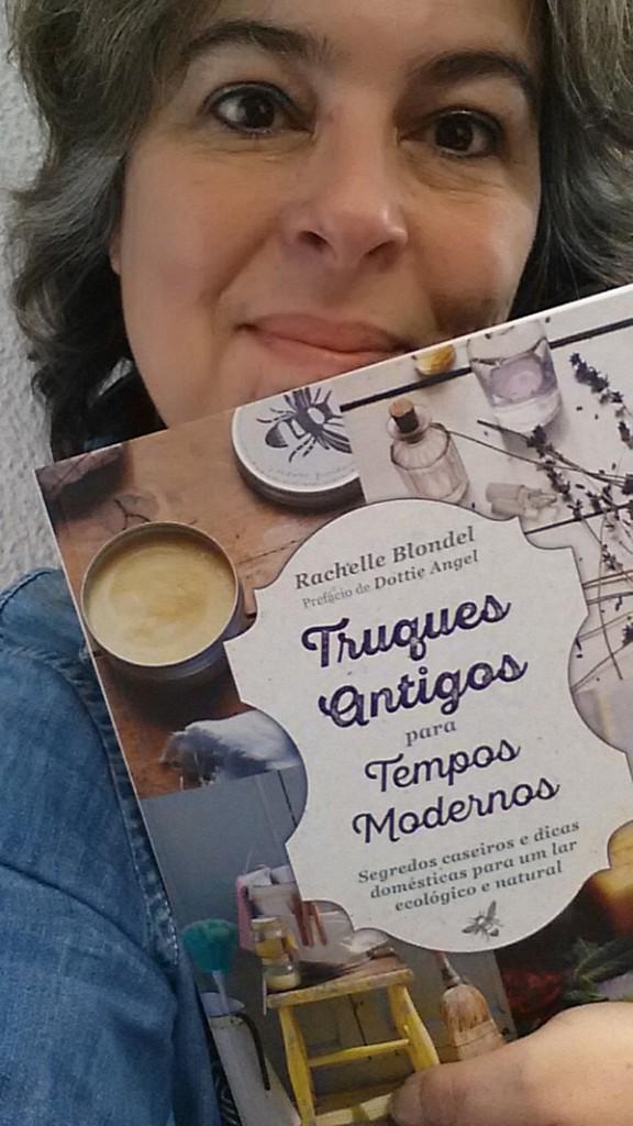 """Maria João Mendonça, vencedora do Passatempo 3 Livros """"Truques Antigos para Tempos Modernos"""""""
