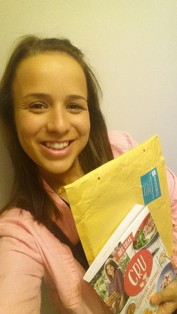 Gisela Oliveira, vencedora do Passatempo CRU – Ganhe livros de Inês Simas