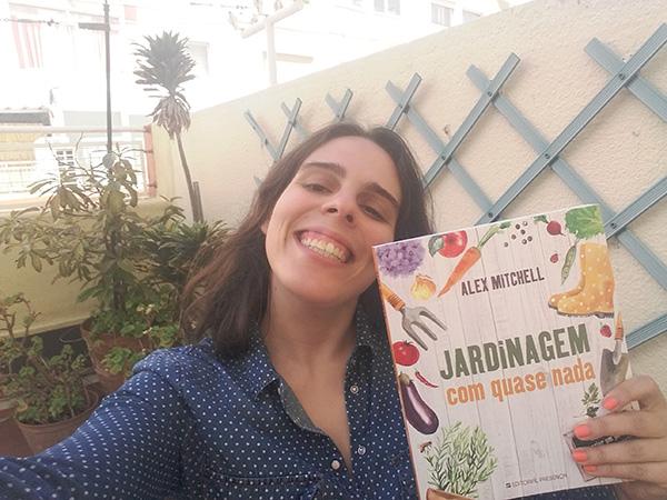 Inês Cardoso, vencedora do Passatempo - 3 livros de Jardinagem Com Quase Nada