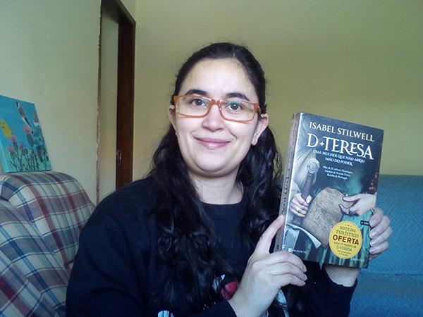 "Daniela Inês Amaral, vencedora do Passatempo ""Pack de livros de Isabel Stilwell"""