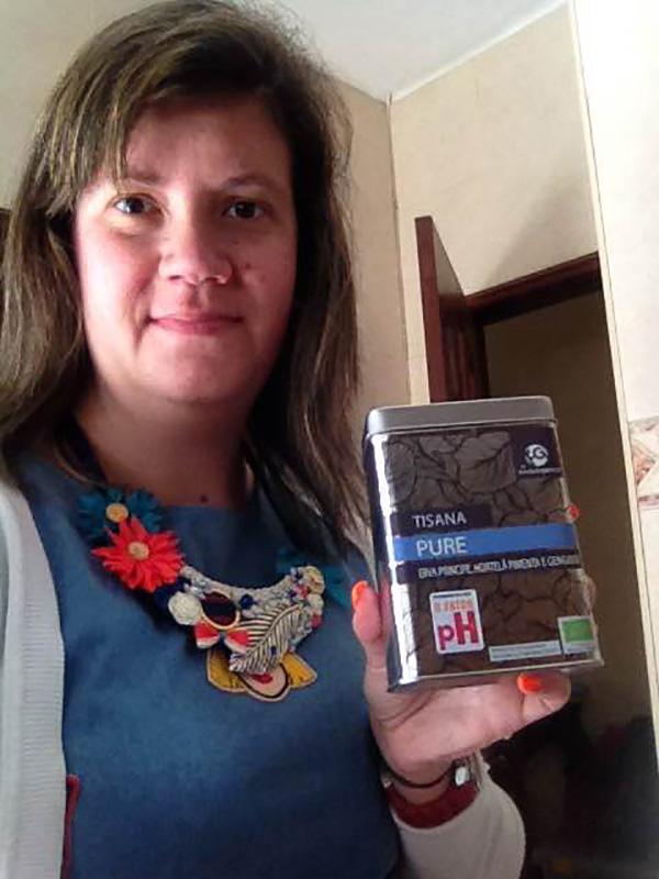 Joana Fernandes, vencedora do Passatempo 3 caixas Tisana Pure by Herdade do Gamoal
