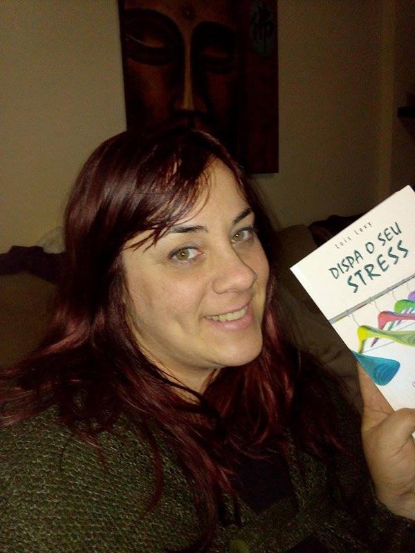 Vania Nunes vencedora do passatempo - livro Dispa o Seu Stress