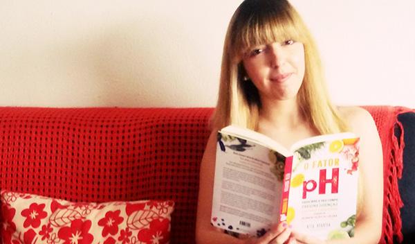 """Carla Cerdeira, vencedora do Passatempo 3 livros """"O Fator pH"""" + 3 consultas com a nutricionista Rita Boavida"""