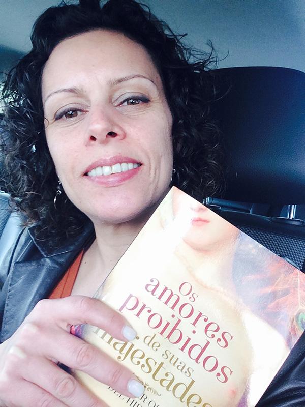 """Leonor Lopes, vencedora do Passatempo: 3 livros """"Os Amores Proibidos de Suas Majestades"""""""