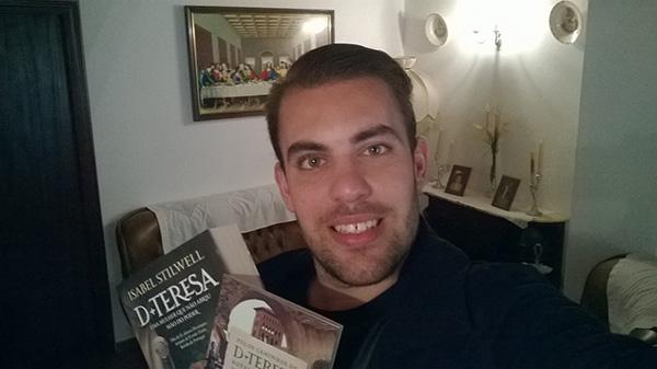 """Fábio Belo, vencedor do Passatempo """"Pack de livros de Isabel Stilwell"""""""