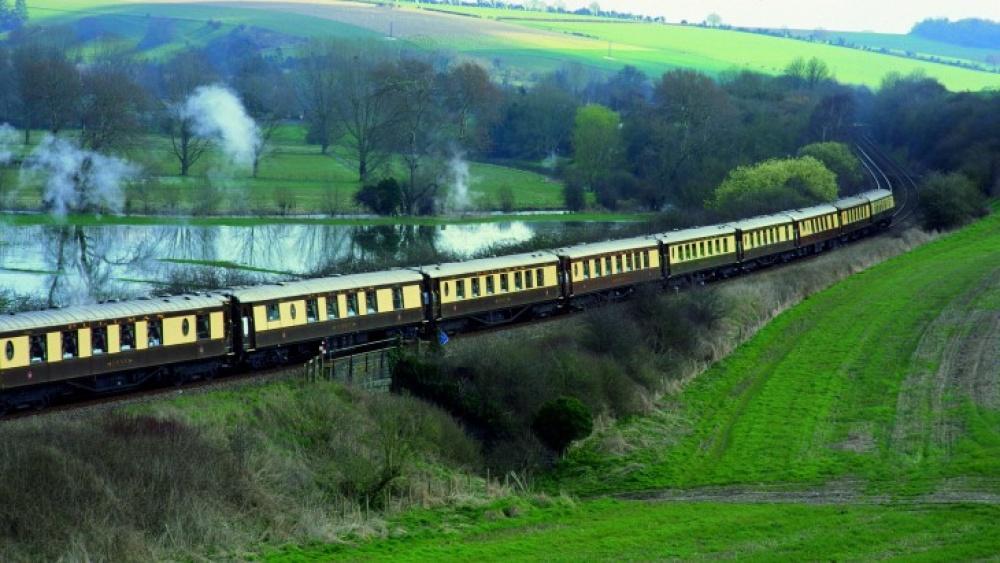 Viagens de Comboio, de sonho - British Pullman, Inglaterra