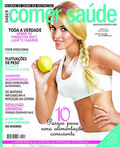Capa Revista Comer com Saúde