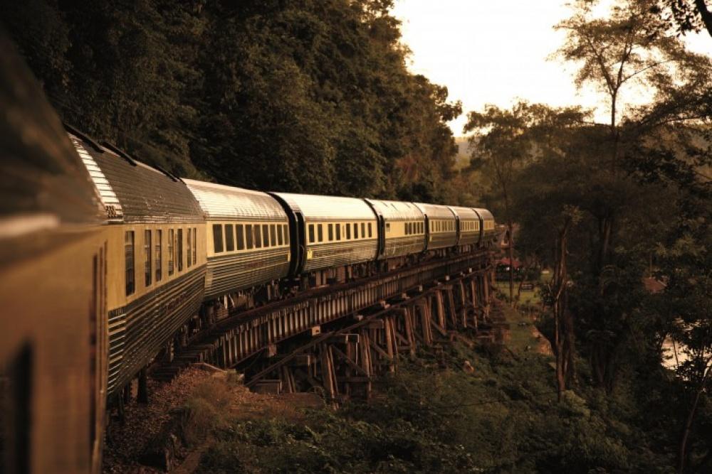 Viagens de Comboio, de sonho - Eastern & Oriental Express, Singapura e Tailândia