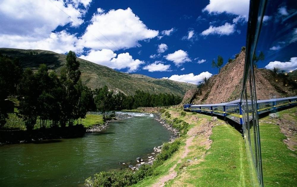 Viagens de Comboio, de sonho - Hiram Bingham, Perú