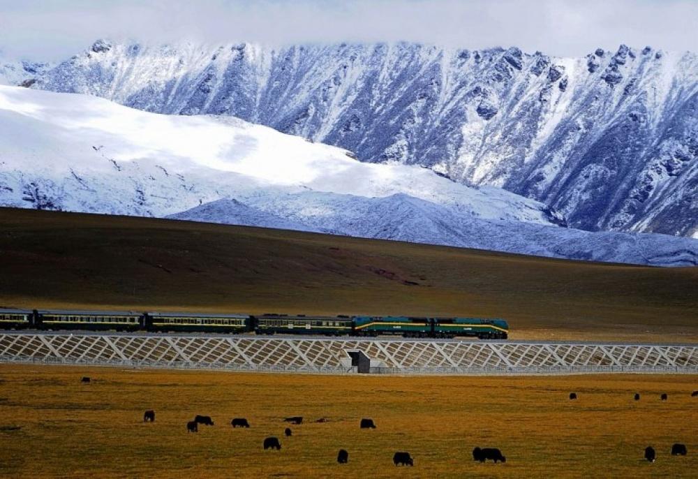 Viagens de Comboio, de sonho - Qingzang, China