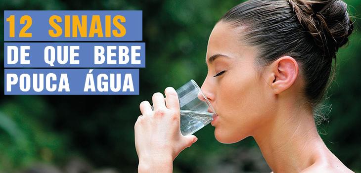 12 Sinais de que Bebe Pouca Água