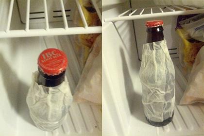 Coisas que sempre fizemos mal - cerveja fria mais depressa