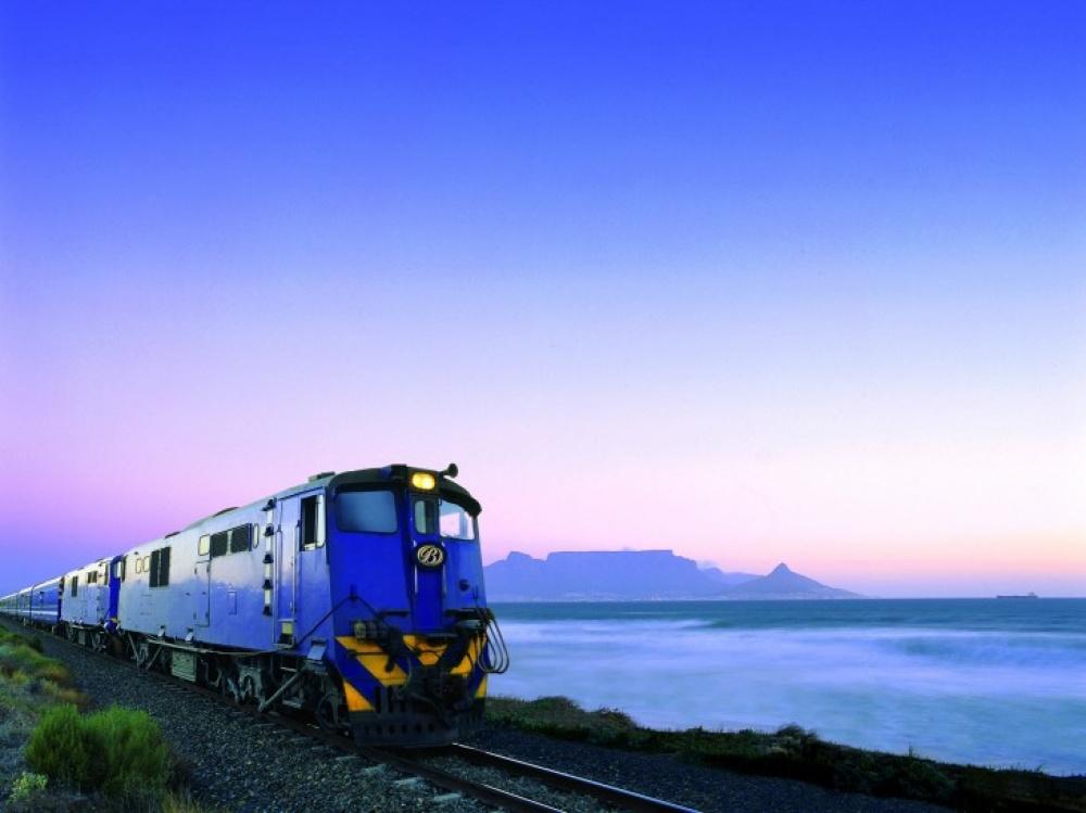 Viagens de Comboio, de sonho - Comboio Azul, África do Sul