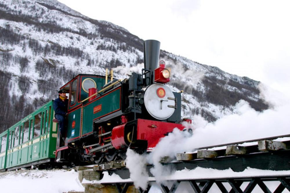 Viagens de Comboio, de sonho - Comboio do Fim do Mundo, Argentina
