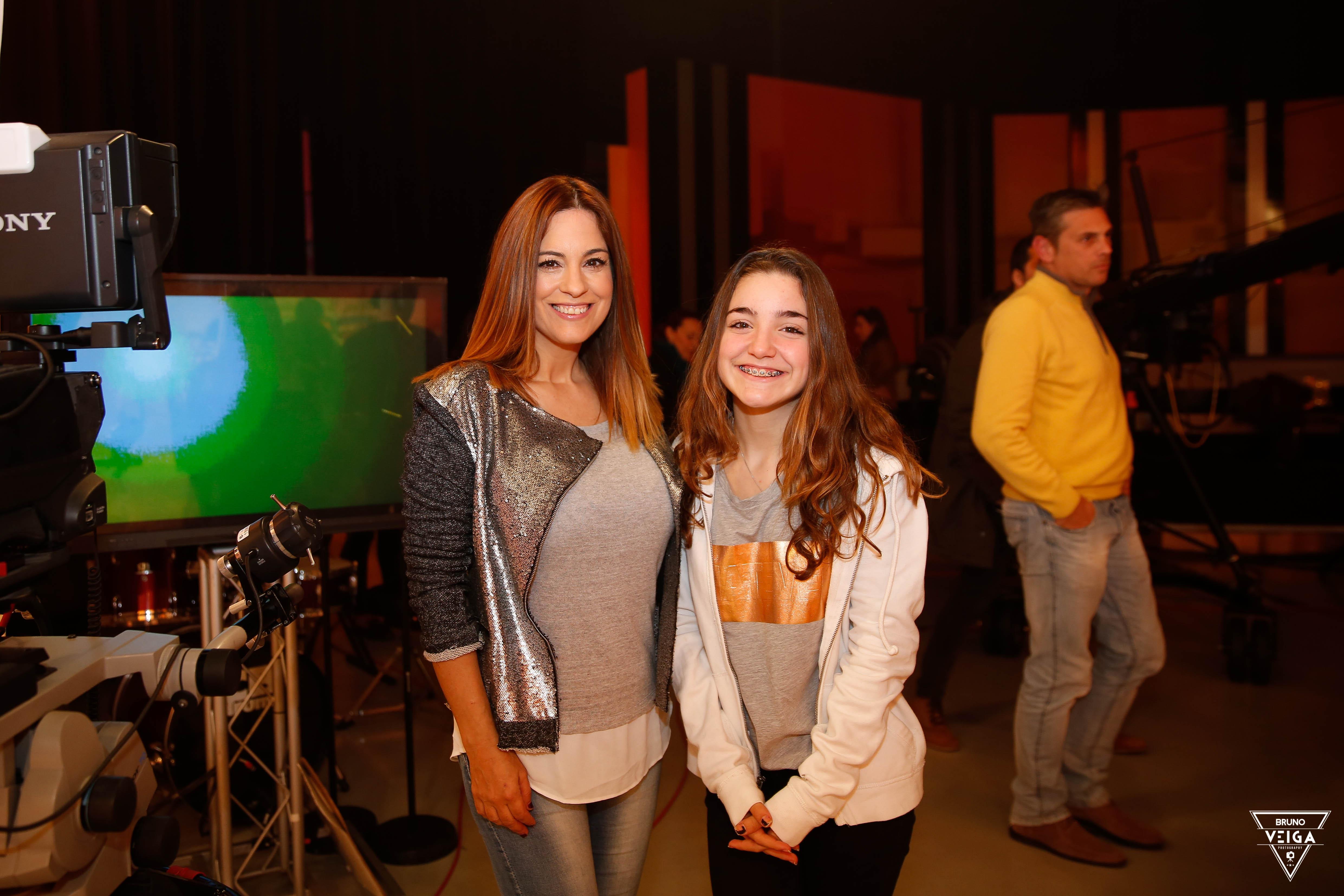 Teresa Guilherme nos bastidores da televisão - Cristina Areia
