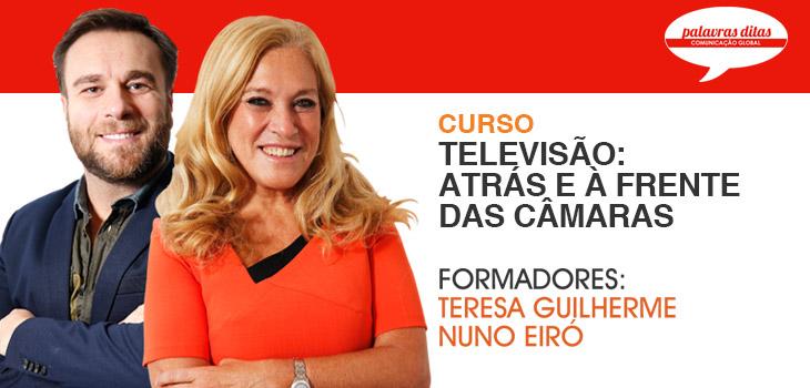 Novo Curso! Televisão Atrás e à Frente das Câmaras – Palavras Ditas