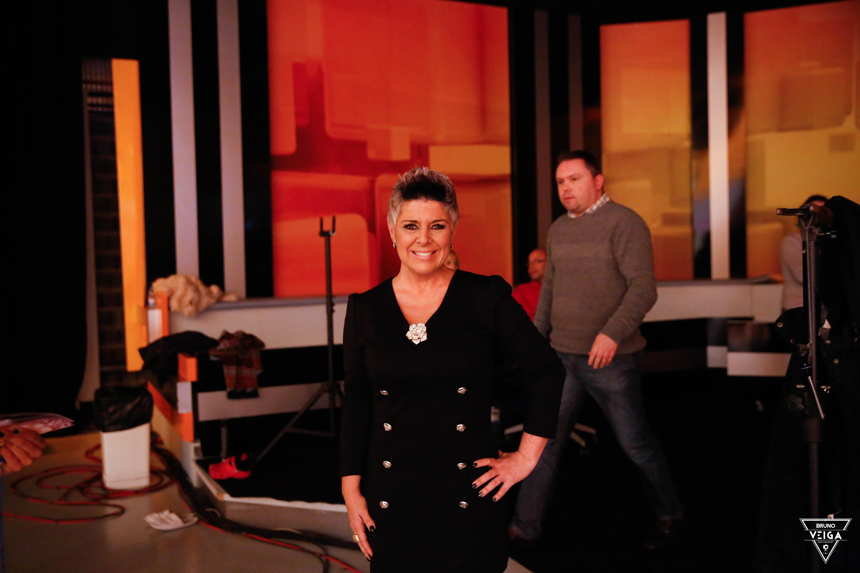 Teresa Guilherme nos bastidores da televisão - Nucha do Big Brother Vip