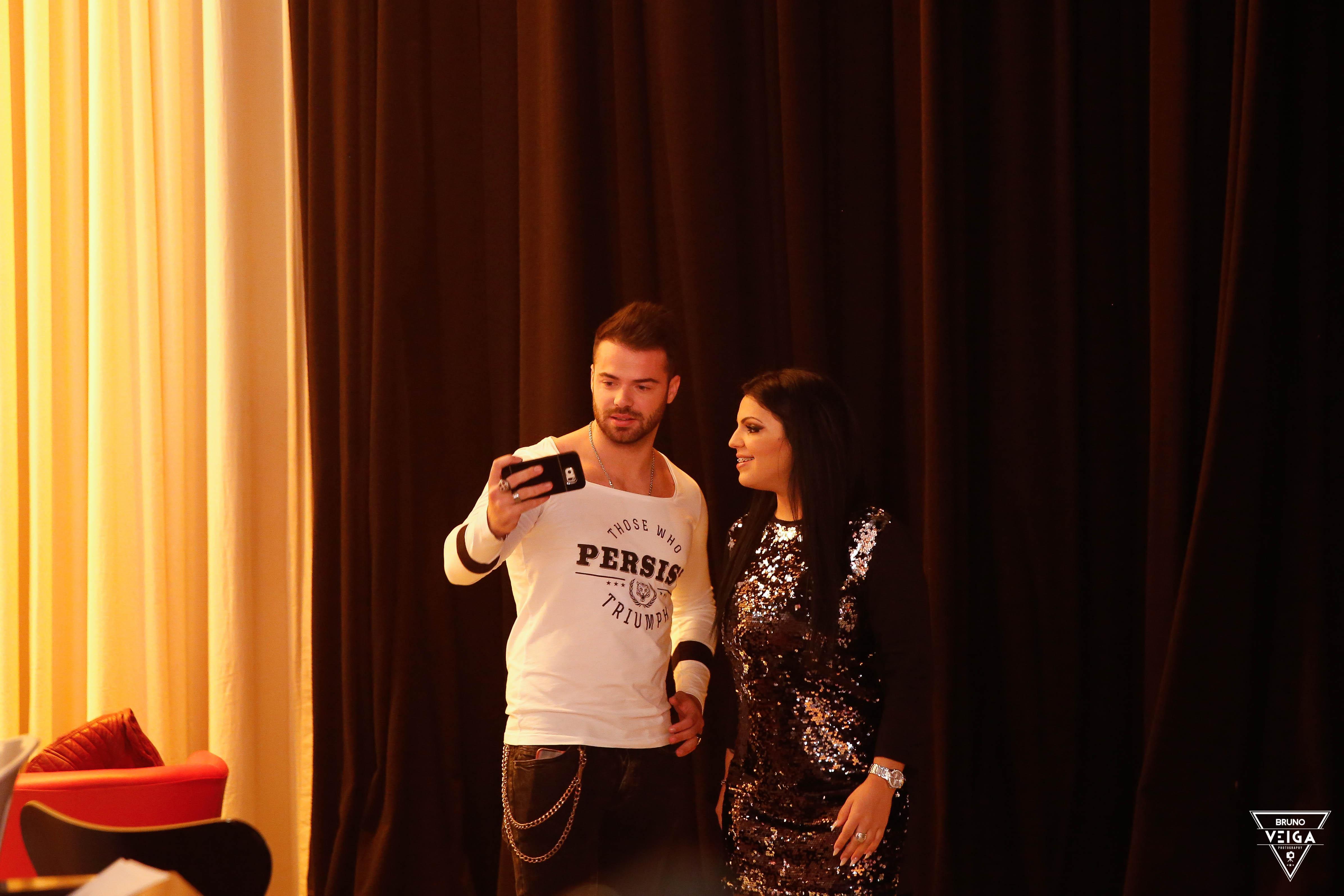 Teresa Guilherme nos bastidores da televisão - Ruben e Tatiana da Casa dos Segredos