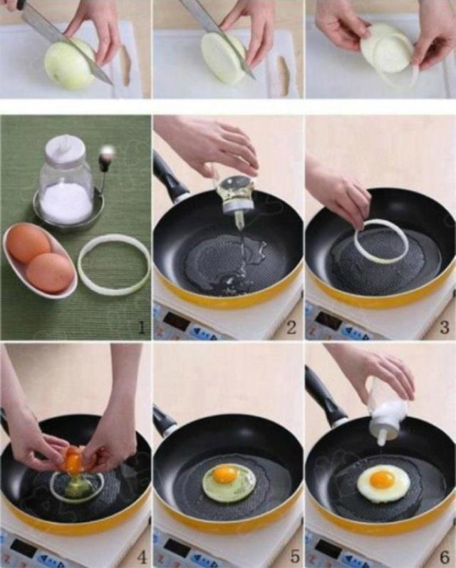 Coisas que sempre fizemos mal - Fazer um ovo estrelado perfeito, bem redondo