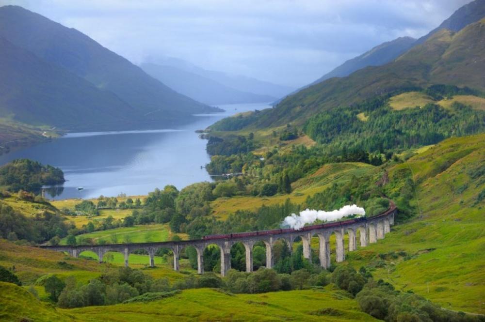 Viagens de Comboio, de sonho - West Highland Line, Escocia