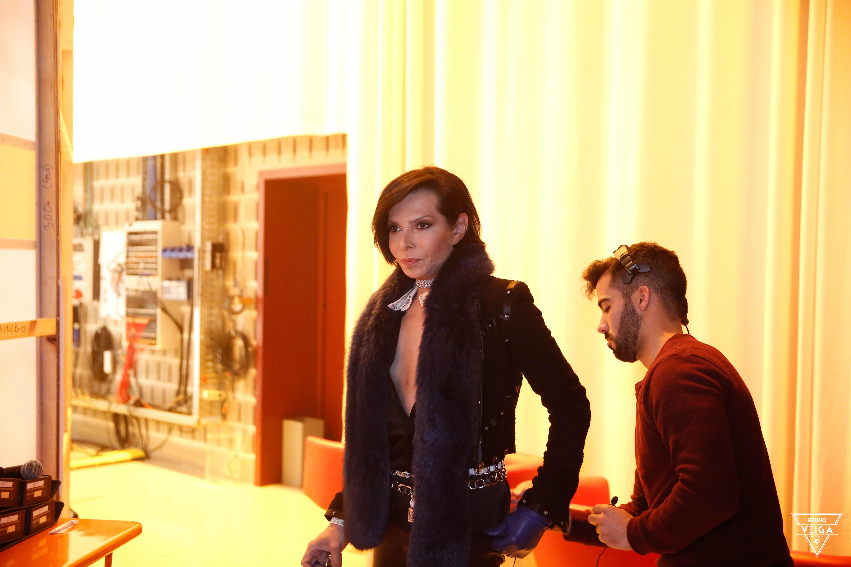 Teresa Guilherme nos bastidores da televisão - José Castelo Branco