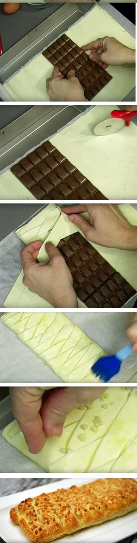 10 Alimentos Preparados de Forma Original - tarte de chocolate