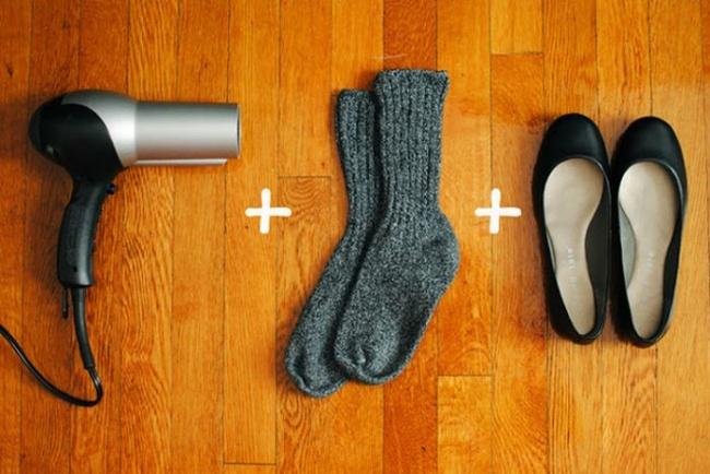 10 truques geniais para a sua roupa e calçado - evitar calos com sapatos novos