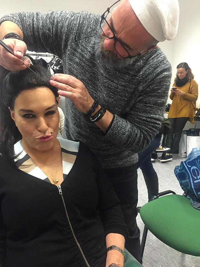 Teresa Guilherme toda Turbinada como Ana Malhoa