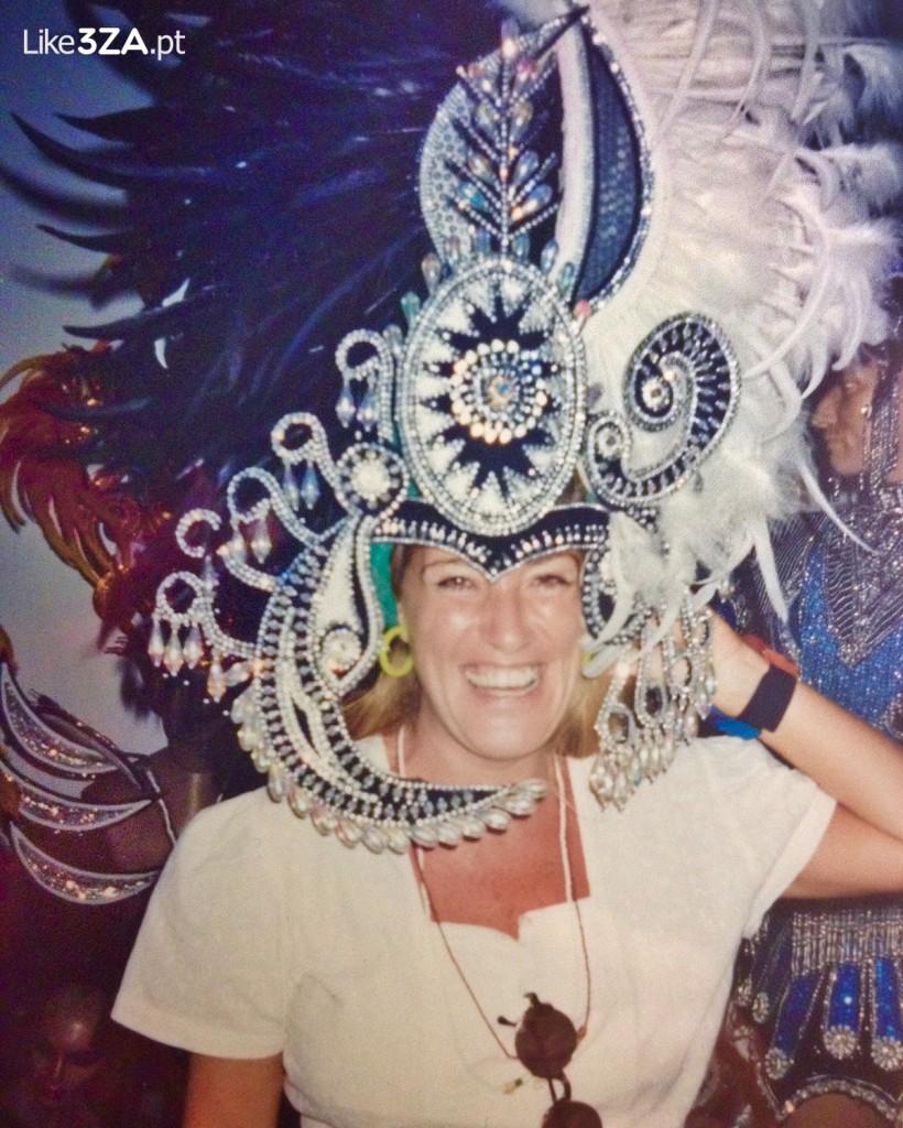 Teresa Guilherme no Carnaval do Rio de Janeiro