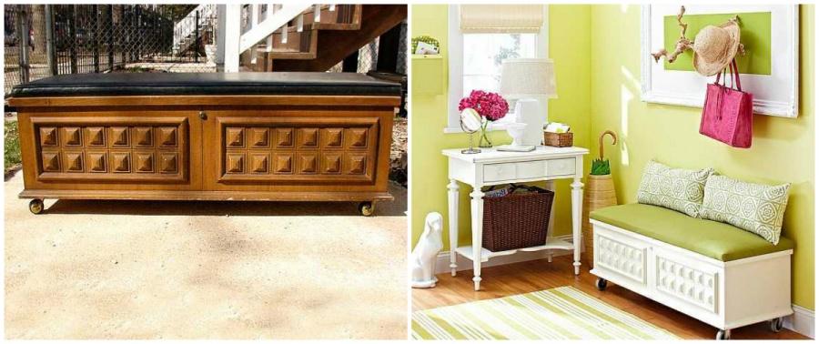 15 boas ideias para renovar os seus m veis antigos like3za for Como decorar una mesa de madera vieja