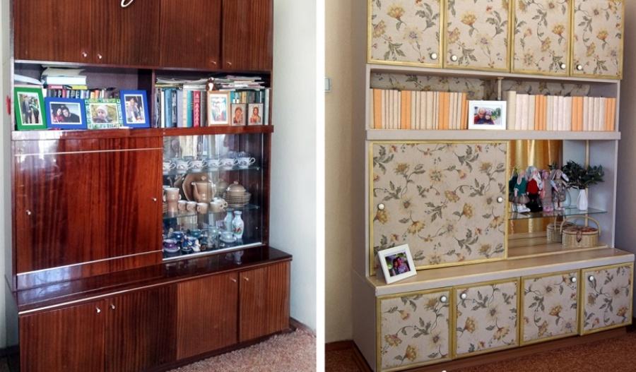 Ideias Para Renovar os Seus Móveis Antigos - velho armário da avó