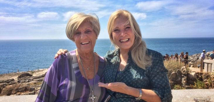 Teresa Guilherme e a mãe, Lídia Ribeiro, Conheça a Mulher da Minha Vida