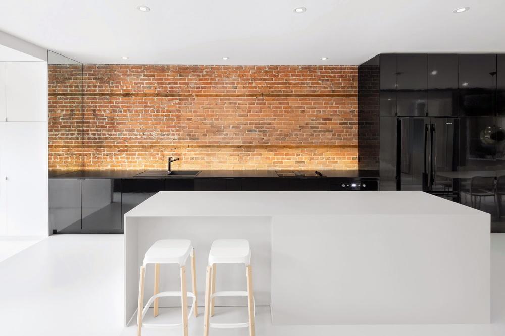 Cozinhas de sonho - cozinha minimalista