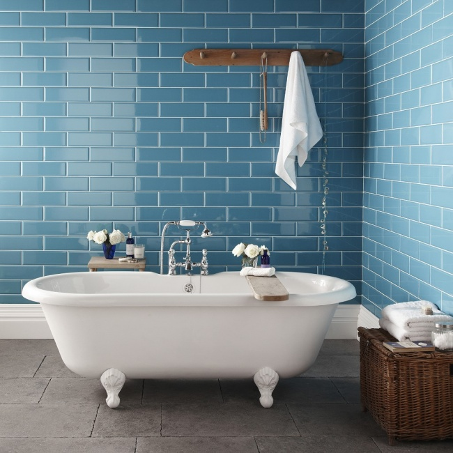 Especial decoração: 10 casas, 10 cores - Azul