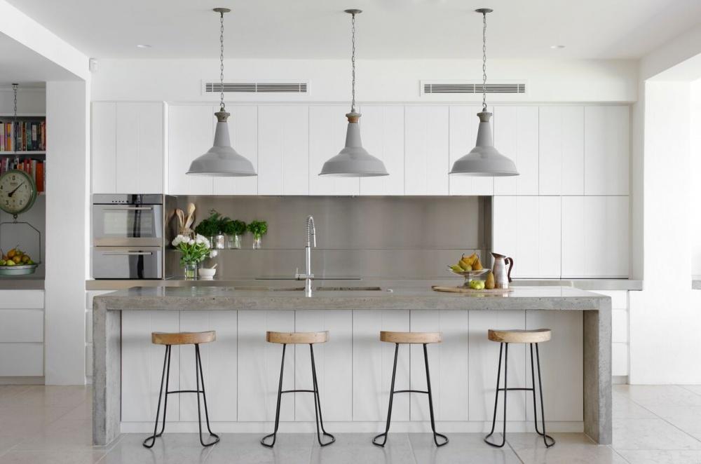 Cozinhas de sonho - cozinha em branco integral