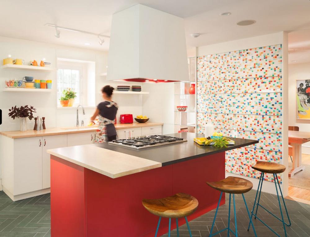 Cozinhas de sonho - cozinha colorida