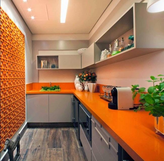 Especial decoração: 10 casas, 10 cores - Cor de laranja