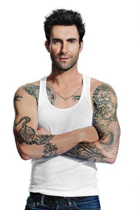 Os homens mais sexys do mundo - Adam Levine