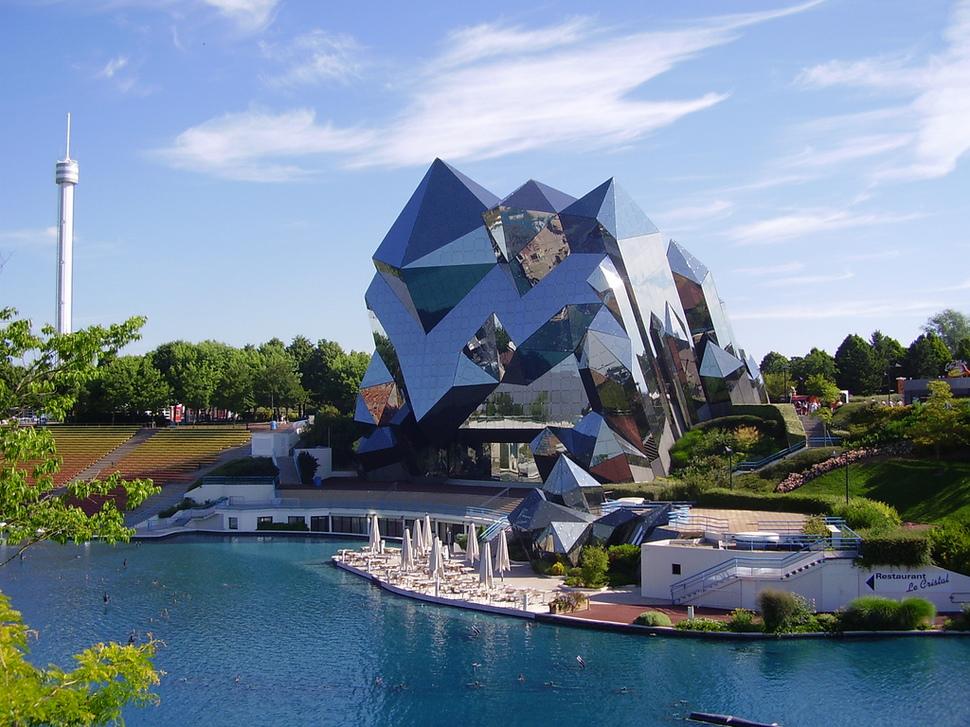 Os prédios mais loucos do Mundo - Futuroscope- Poitiers, França