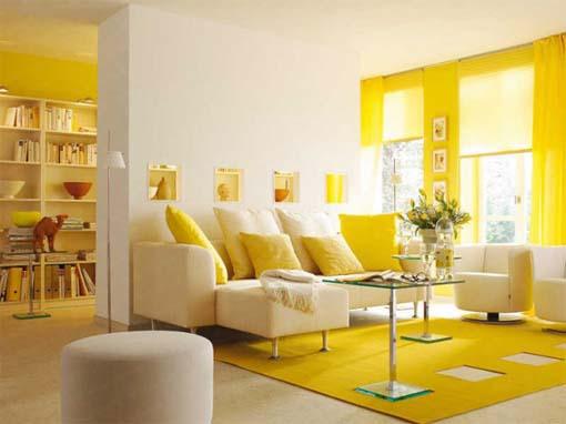 Especial decoração: 10 casas, 10 cores - Amarelo