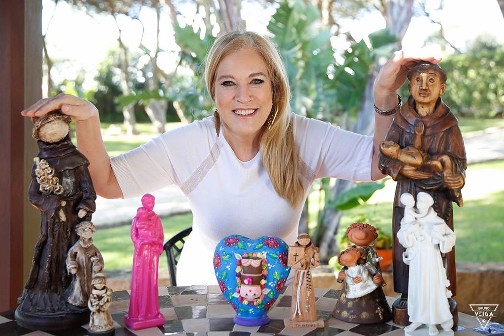 Teresa Guilherme e o Santo António - Conheça a minha coleção de Santos Antónios