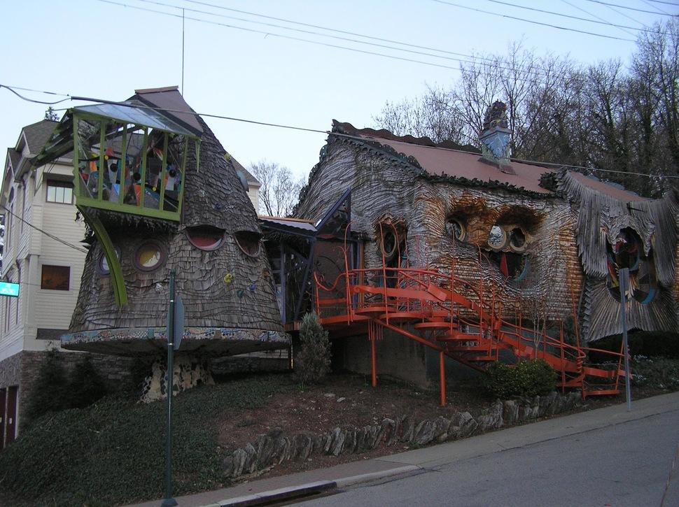 Os prédios mais loucos do Mundo - Casa Cogumelo- Cincinnati Estados Unidos