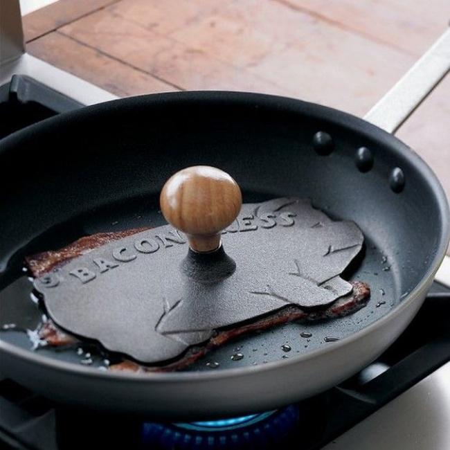 Objectos de sonho para qualquer cozinha - Prensa de ferro para bifes