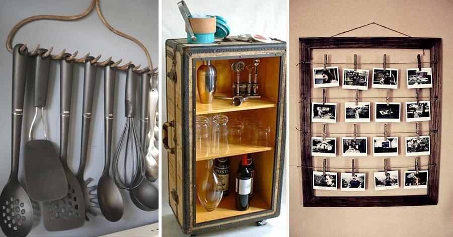 Faça você mesmo! 9 ideias originais de decoração