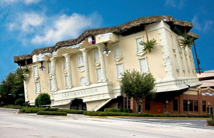 Os prédios mais loucos do Mundo - Wonderworks- Orlando, Florida, Estados Unidos