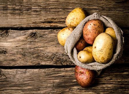 Top 10 dos alimentos alcalinos - Batatas