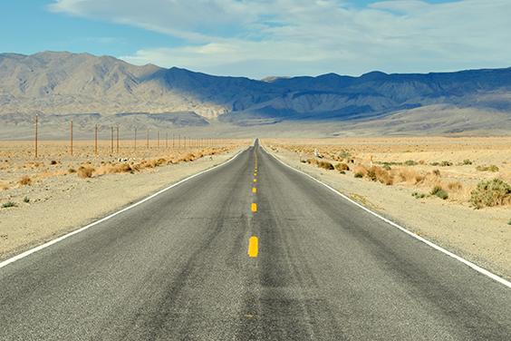 Lugares mais quentes do mundo - Vale da Morte- Califórnia- Estados Unidos da América
