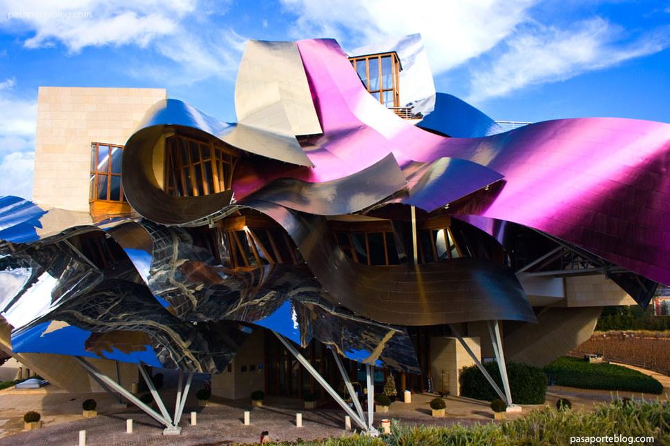 Os prédios mais loucos do Mundo - Hotel Marques de Riscal, Elciego, Espanha
